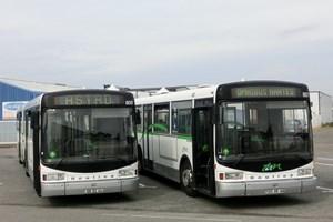 omnibus nantes un gx 187 offert l 39 association de sauvegarde des bus dijonnais. Black Bedroom Furniture Sets. Home Design Ideas